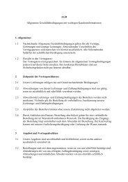 Allgemeine Geschäftsbedingungen (AGB) - Lammert-gmbh