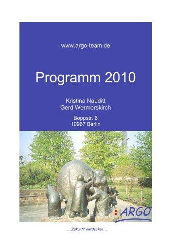 Organisations- und Gemeinwesenentwicklung - Argo-Team