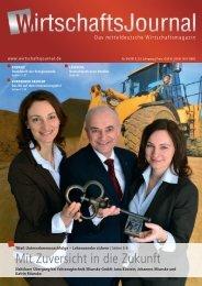 Ausgabe 04/13 - Wirtschaftsjournal