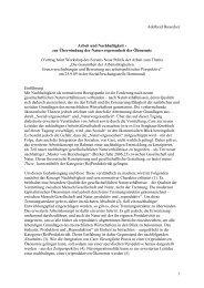 Text - Forum Neue Politik der Arbeit