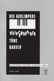 Markus Ciupke - Komparatistik