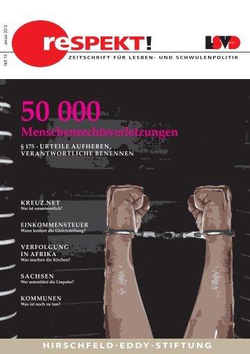 gehts zum Download - Lesben- und Schwulenverband in Deutschland