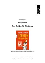 Das Gehirn für Eierköpfe - Rowohlt Theaterverlag