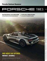 Ausgabe 3/13 - Porsche Zentrum Hannover