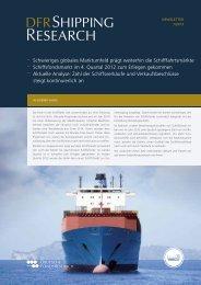 Download DFR Shipping Research 1/13 - Deutsche FondsResearch