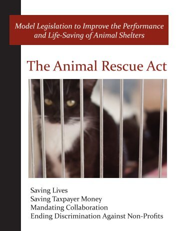 The Animal Rescue Act - No Kill Advocacy Center