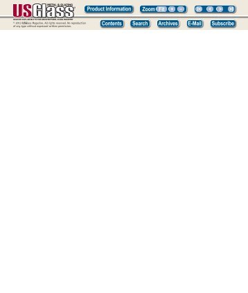 August 2013 - USGlass Magazine & USGNN Headline News