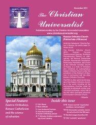 December 2011 - The Christian Universalist Association