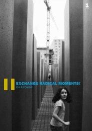 magazin 1 - Blog EXCHANGE RADICAL MOMENTS!