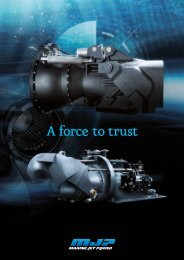 A Force To Trust - Marine Jet Power
