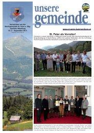 GemeindezeitungAusgabe22013.pdf - Marktgemeinde St. Peter am ...