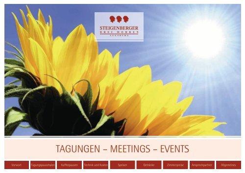 Download Bankettmappe - Steigenberger Hotels and Resorts