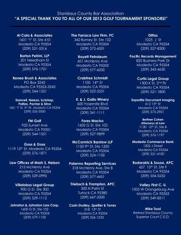 Al Cala & Associates - Stanislaus County Bar Association