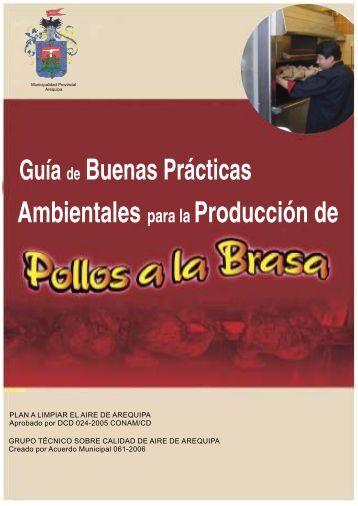 Guia de Buenas Prácticas Ambientales para la producción de Pollos ...