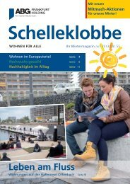Ausgabe Juni 2013 - ABG Frankfurt Holding