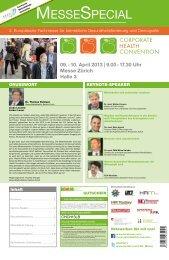 Messezeitung der Corporate Health Convention 2013