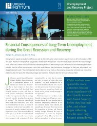 Financial Consequences of Long-Term ... - Urban Institute