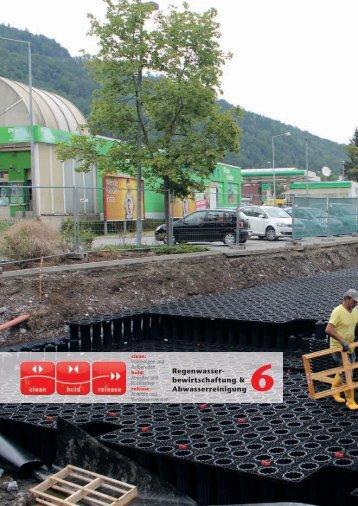 Regenwasser- bewirtschaftung & Abwasserreinigung 6 - Aco