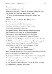 2 Korinther 12, 7-10 Jahreslosung 2012