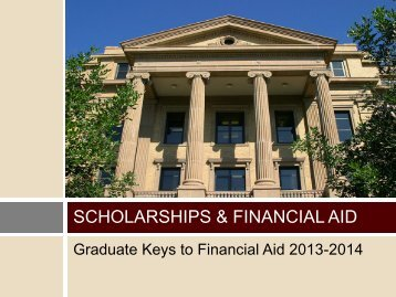 Scholarships & Financial aid - Office of Graduate and Professional ...