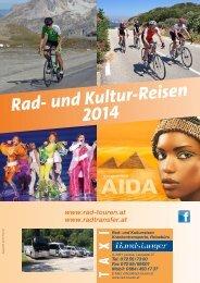 Rad- und Kultur-Reisen 2014 - bei Handstanger / Rad