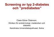 Screeing av typ-2 diabetes