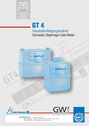 Haushalts-Balgengaszähler Domestic Diaphragm Gas Meter