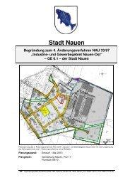 """""""Industrie- und Gewerbegebiet Nauen-Ost"""" – GE 6.1 – der Stadt ..."""