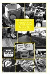 Town Report 2010-2011 - Castine, Maine