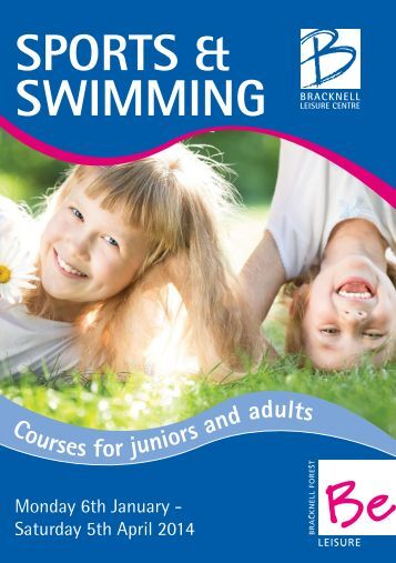 Adult sports courses 6 January to 5 April 2014 - Bracknell Forest ...