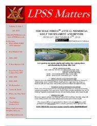 July - Lorne Park Secondary School Alumni Website Intro