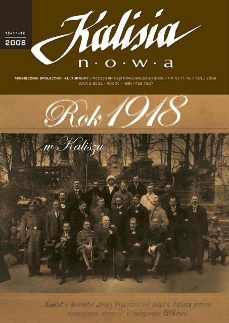 Kalisia nr 10-11-12/2008 - Kalisz