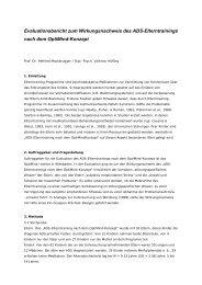 Evaluierung des AttenXo-Therapieprogramms