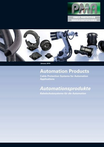 PMA Cable Protection Automation Products