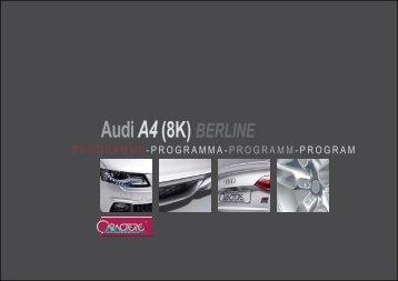 AudiA4 (8K) BERLINE - Tuningstore.cz