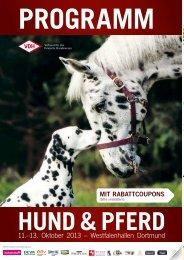 Programm - Hund & Pferd