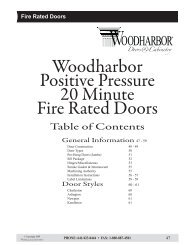 Fire Rated Doors - Woodharbor Doors & Cabinetry