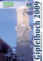 Gipfelbuch 2009 - DAV Zittau