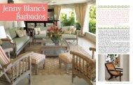 Jenny Blanc to Barbados - Jenny Blanc Designs