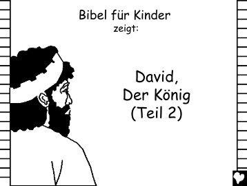 David the King Part 2 German CB - Bible for Children