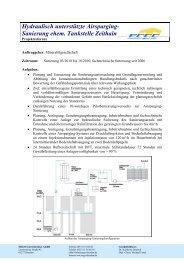 Sanierung ehem. Tankstelle Zeithain - ERGO Umweltinstitut GmbH
