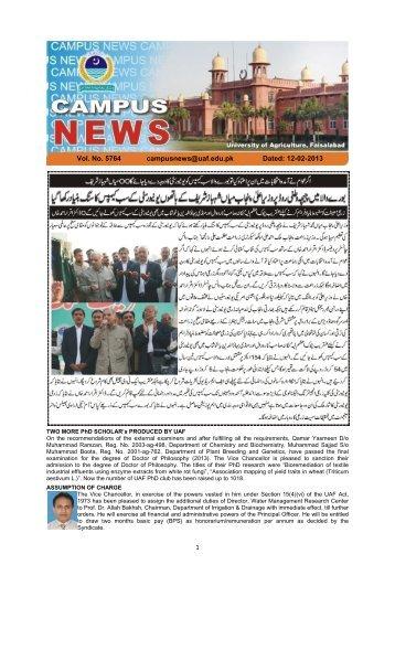 Campus News