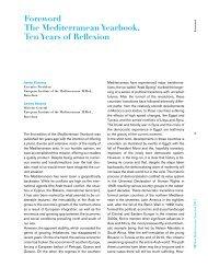 The Mediterranean Yearbook, Ten Years of Reflection - IEMed