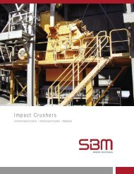 Impact Crusher - SBM Mineral Processing