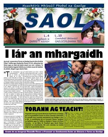 TORANN AG TEACHT! - Foras na Gaeilge