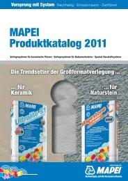 Verlegesysteme für keramische Fliesen - Mapei