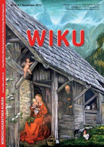 WINDISCHGARSTNER KURIER - wiku-online.at