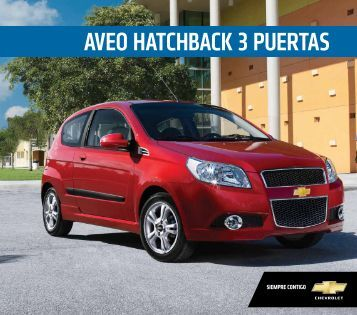 Nuevo Aveo Hatchback 3 puertas. - Miura Autos