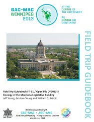 Geology of the Manitoba Legislative Building - Government of ...