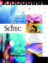 Scitec Full Line Catalogue